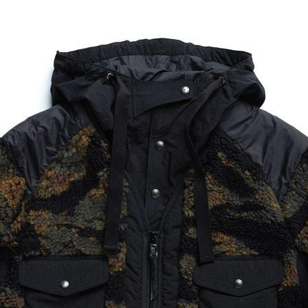 Eastlogue Fleece Traveller Jacket - Tiger Camo