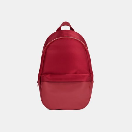 Haerfest Travel Small Nylon Backpack - Red