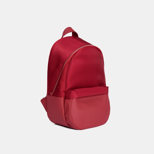 Haerfest Travel Small Nylon Backpack - Red