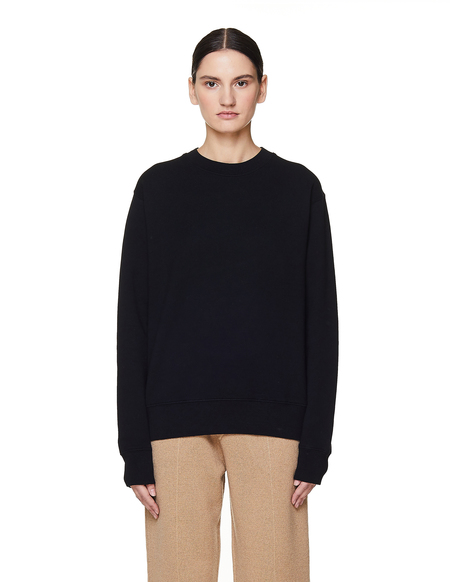 Golden Goose Cotton Printed Sweatshirt - Black