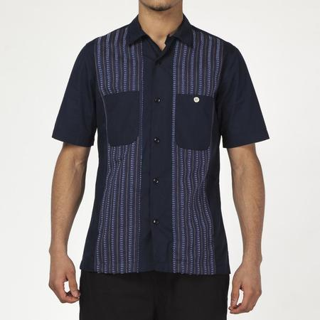{ie Camp Shirt - Navy/Navy
