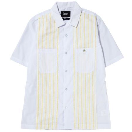 {ie Camp Shirt - White/Yellow