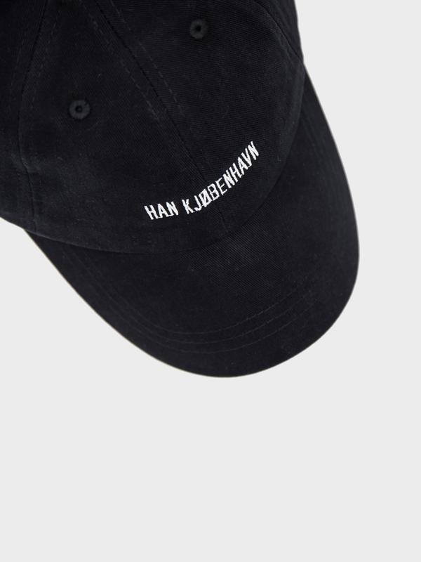 Han Kjøbenhavn Cotton Cap - black