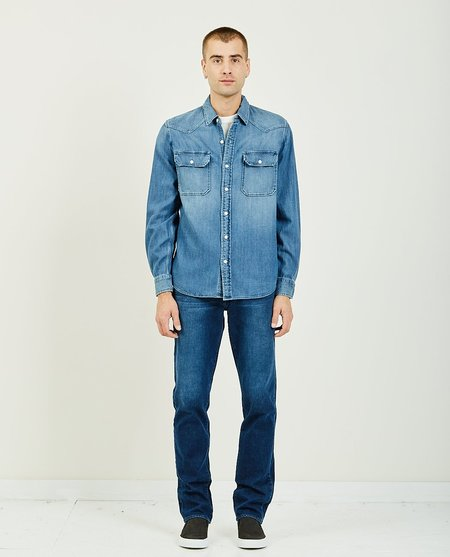 Joe's Jeans DENIM alec BUTTON DOWN - medium wash