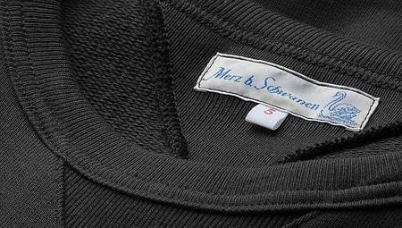 Merz B. Schwanen 346 Loopwheeled Crewneck Sweatshirt - Charcoal