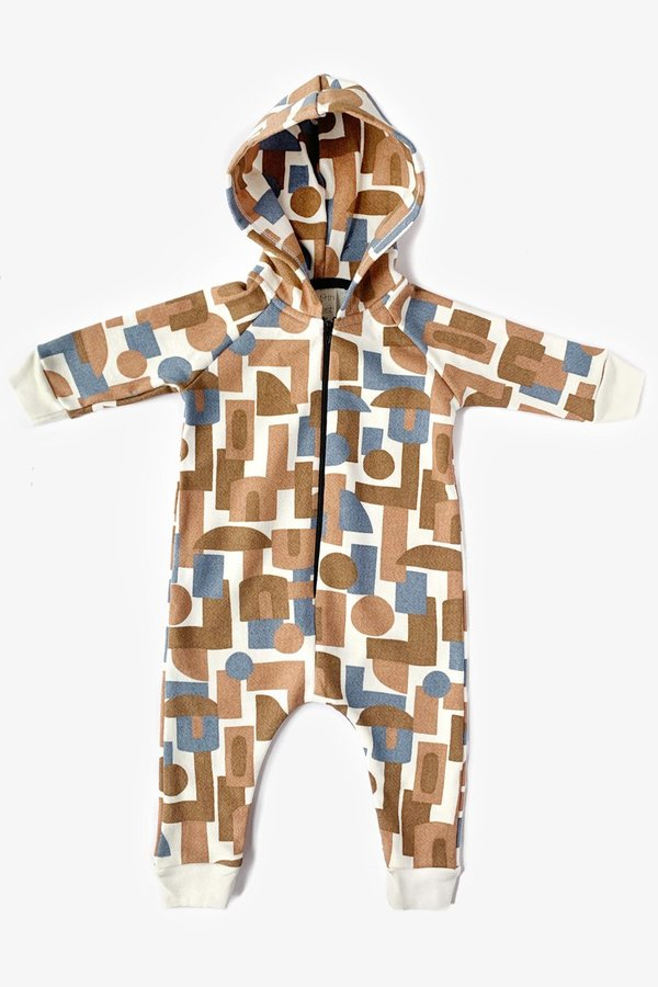 North Of West Decades Hooded Jumpsuit - Natural