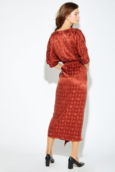 Callahan Sami Dress - Rust