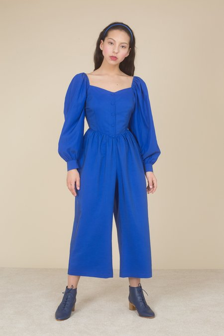 Samantha Pleet Shalott Jumpsuit - ROYAL BLUE