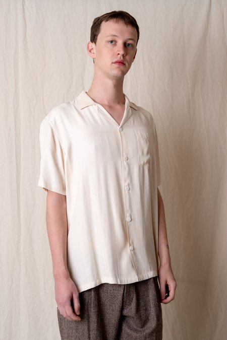 House of St. Clair CUBA SHIRT - IVORY