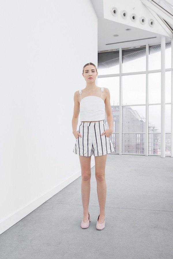 OhSevenDays Jesse Shorts - white