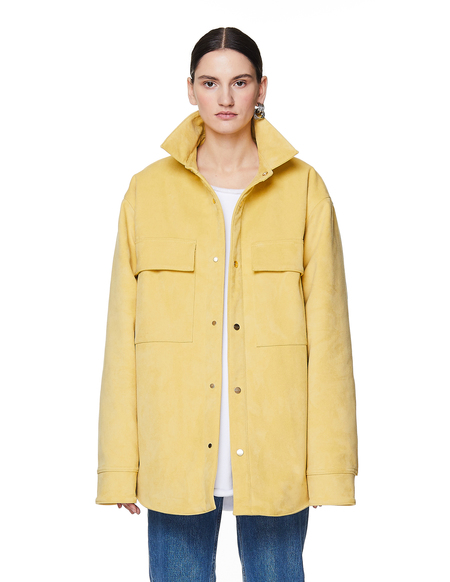 Fear of God Ultrasuede Padded Shirt Jacket - YELLOW