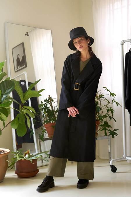 REIFhaus Puffer Bucket Hat - Black