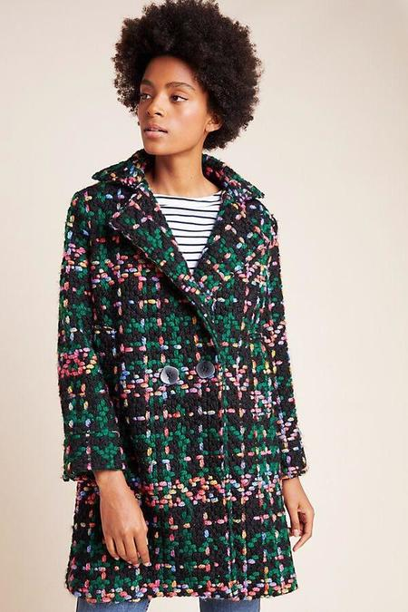 PEPA LOVES Piccadilly Tweed Coat - Multi