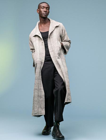 Unisex Manto Abrigos Oversized Wool Coat
