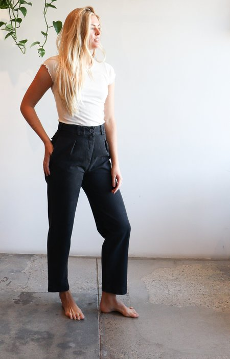 Mara Hoffman Jade Pant -  Black