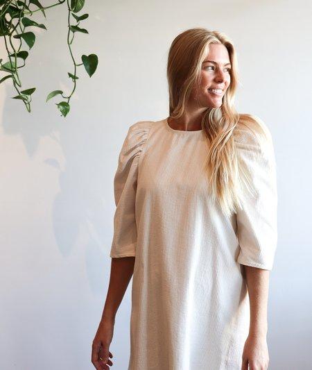 Whit Clare Corduroy Dress - Ivory