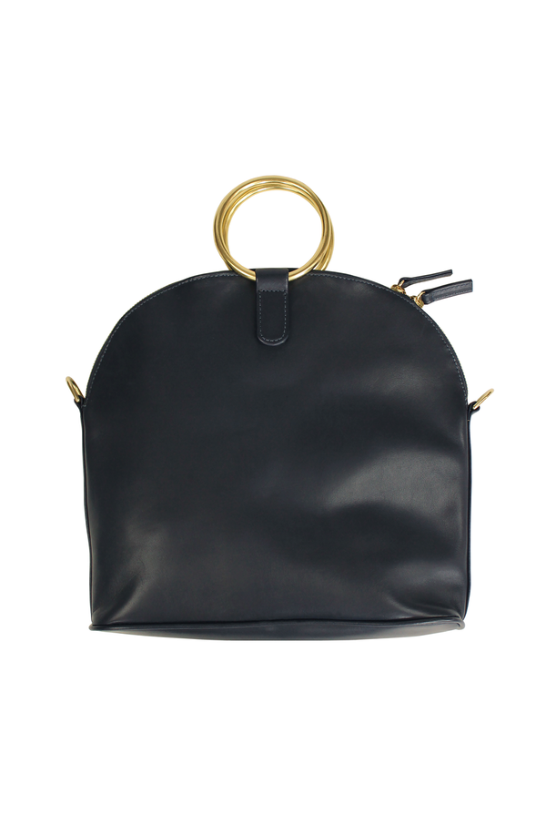 Myers Collective Ring Satchel - Black