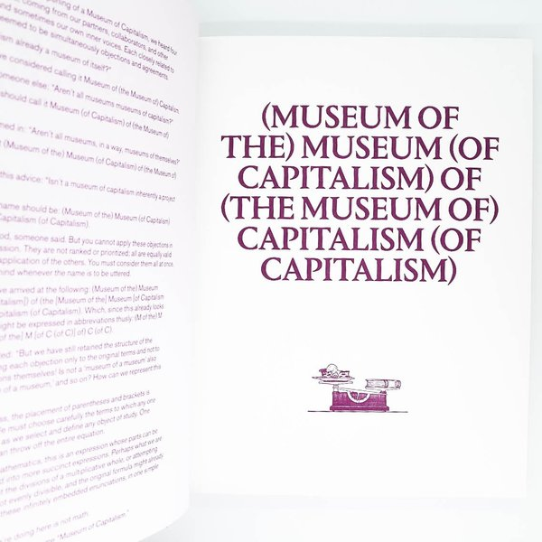 "Inventory Press ""Museum of Capitalism"" Book"