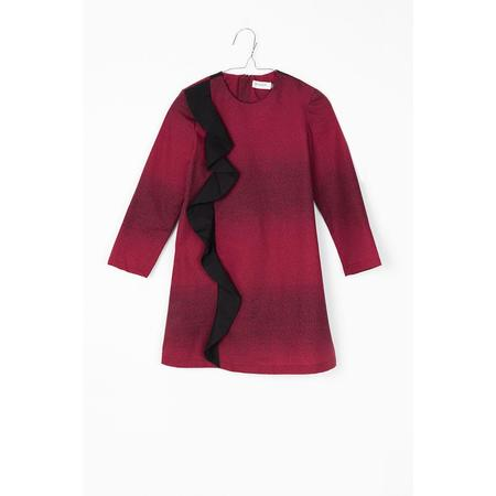 Kids Motoreta Lyra Dress - Burgundy
