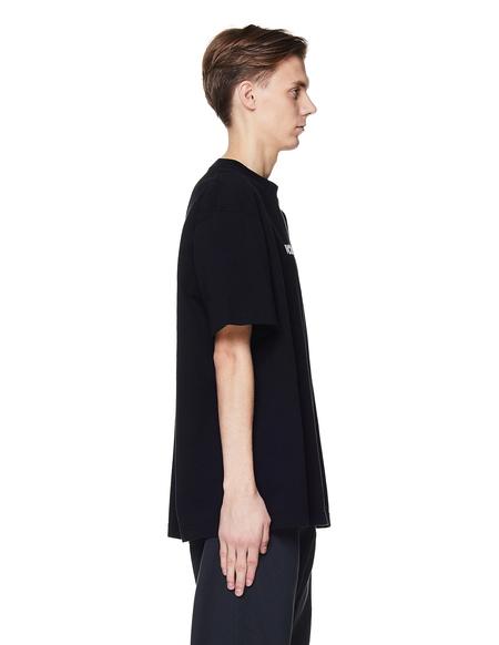 Vetements Cotton Logo T-Shirt - Black