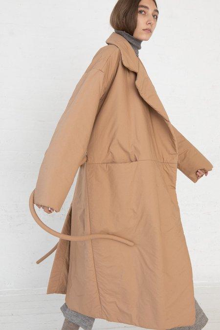 Lauren Manoogian Puff Trench Coat - Adobe