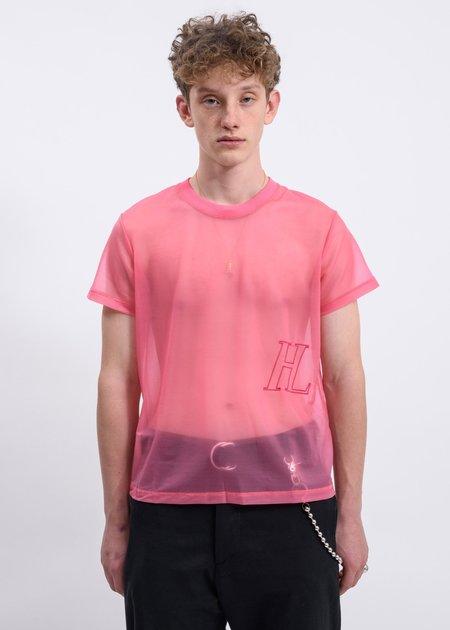 Helmut Lang Femme Little T-Shirt - Prism Pink