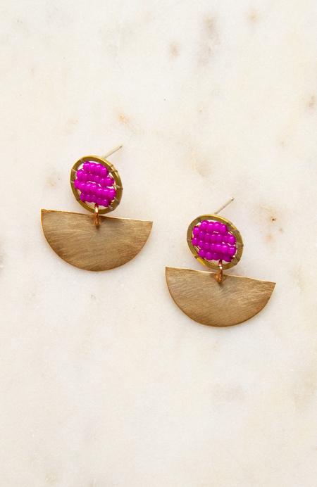 Alchemilla Chariot Earrings
