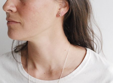 M. Hisae San Studs Earrings