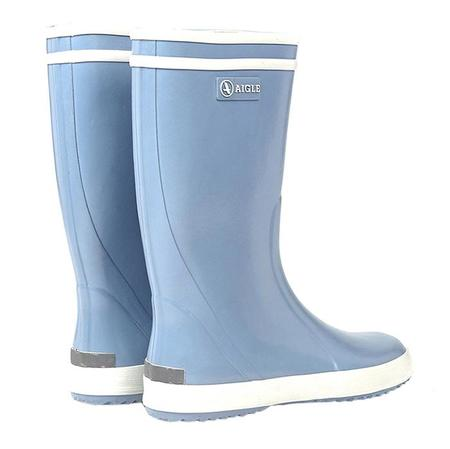 Kids Aigle Lolly Pop Rubber Boots - Sky Blue