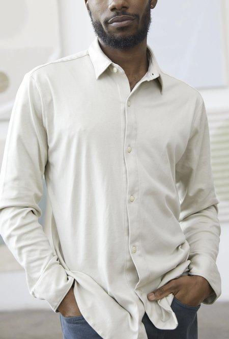 Alex Crane Blanket Shirt - Bone