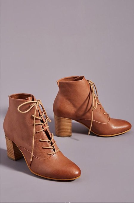 SILENT D Umeno Lace Up Boots - Brown