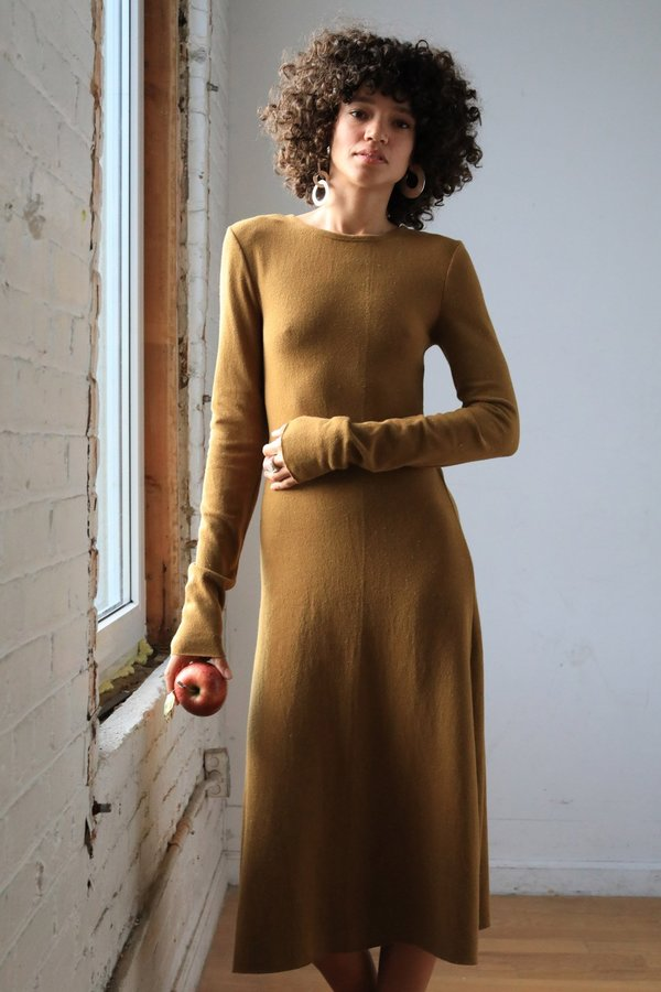 ARIELLE Tilda Recycled Cotton Dress