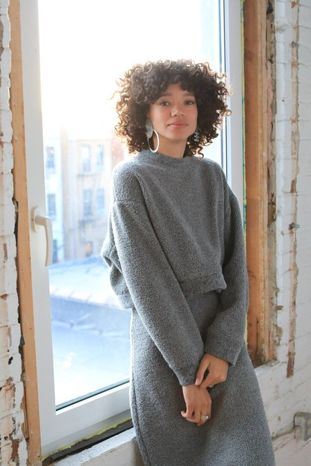 ARIELLE Recycled Wool Mercury Sweater