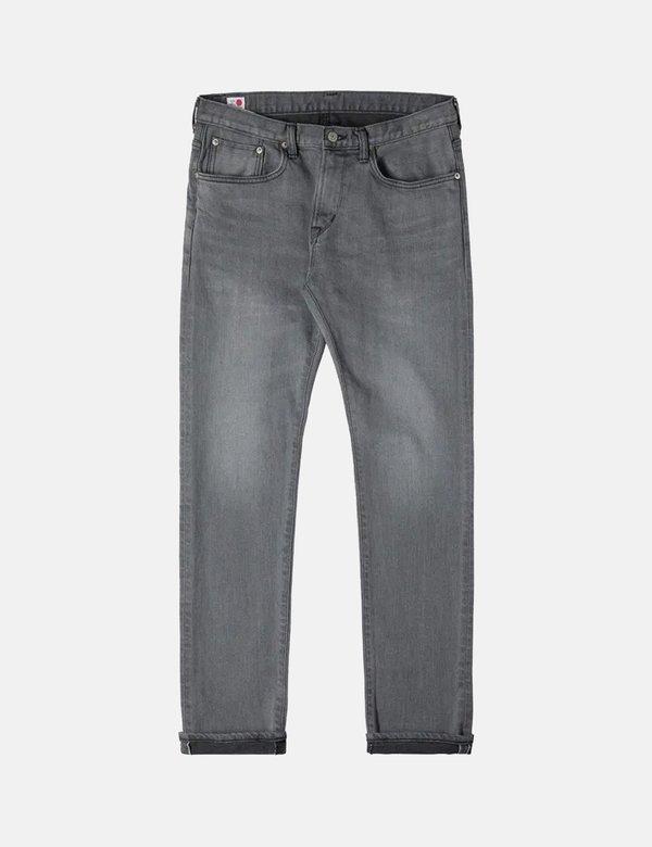 Edwin Kaihara Slim Tapered Selvage 12.5oz Jeans - Black Mid-Used