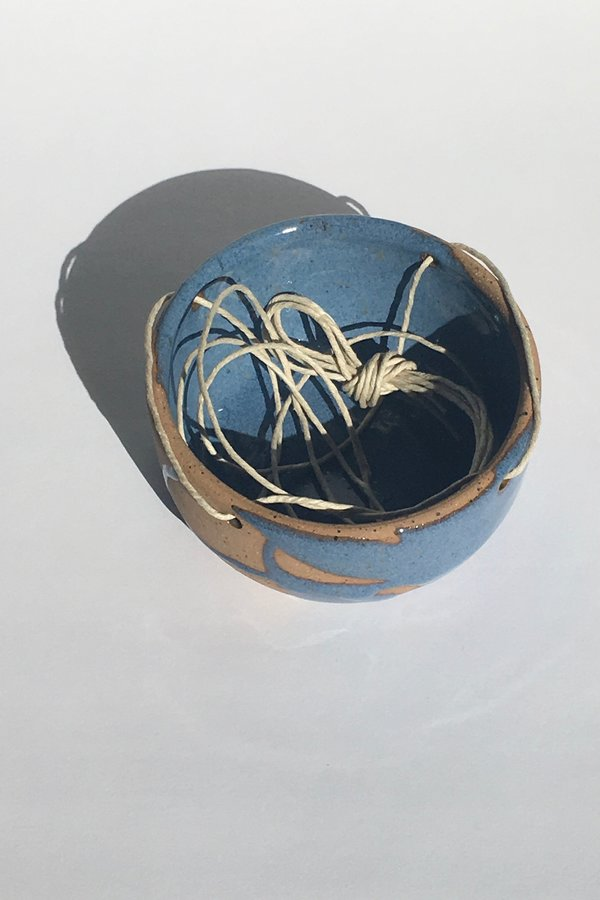 Christina Kosinski Mayhem Hanging Planter - blue