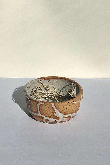 Christina Kosinski Mayhem Hanging Planter - white