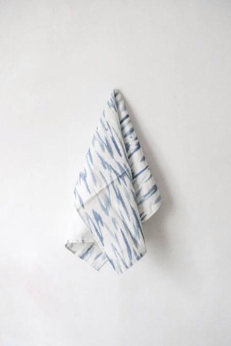 Technicolor Dino Tea Towels - indigo