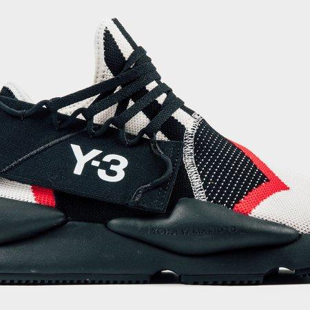 Adidas Kaiwa Knit Sneakers - Black/White/Red
