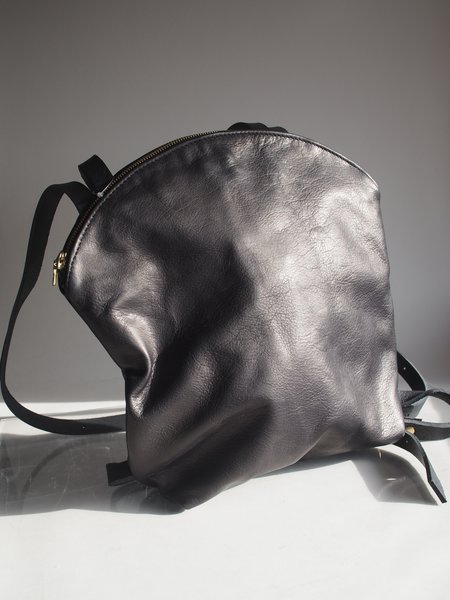 Sord Studios Leather Backpack - black