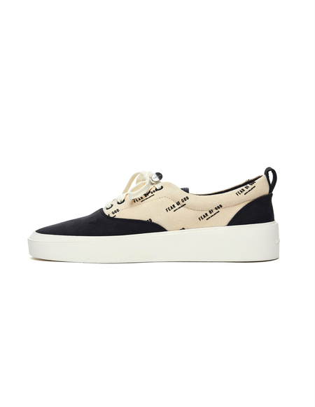 Fear of God Logo Printed 101 Sneakers - white
