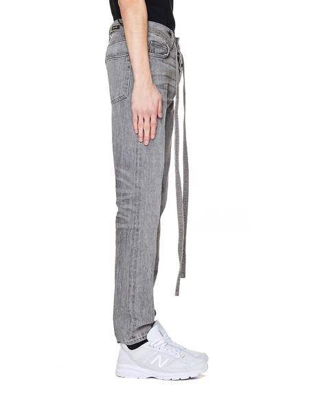 Fear of God Cotton Slim Fit Jeans - Grey