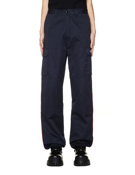 Vetements Cotton Cargo Pants - Grey