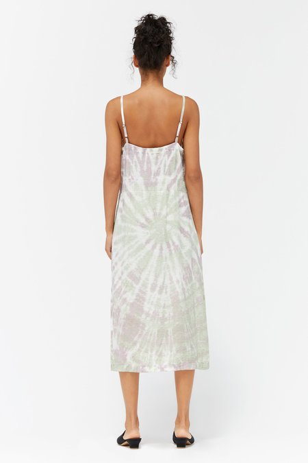 Lacausa Alma Slip Dress - Sugar Plum Swirl
