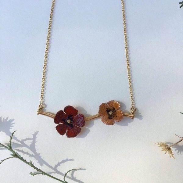Sophie Kissin Jewelry Double Unikko Necklace