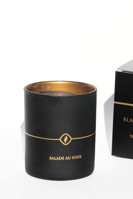 COTE BOUGIE Balade Au Souk candle -  Black Edition