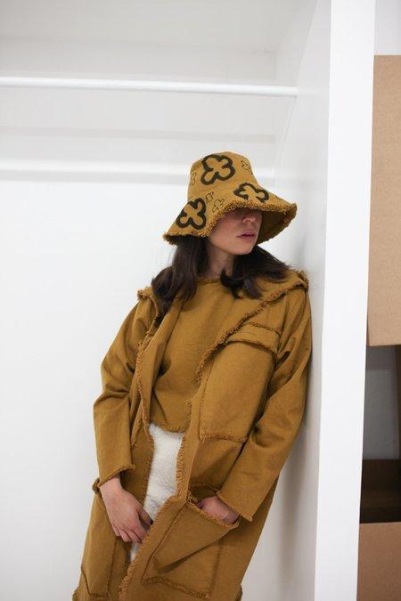 Ashley Rowe Pocket Coat - Desert Tan