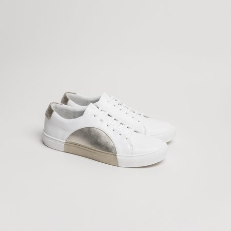 THEY Circle Low - White Bronze