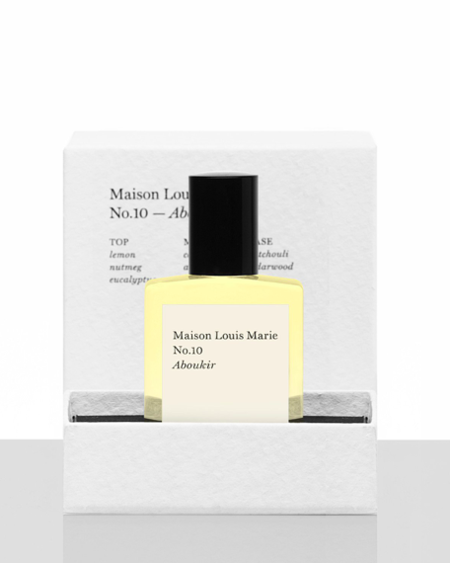 Maison Louis Marie no. 10 aboukir perfume oil