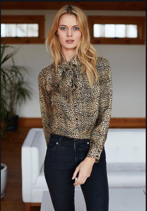Emerson Fry Ribbons Blouse - Little Cheetah