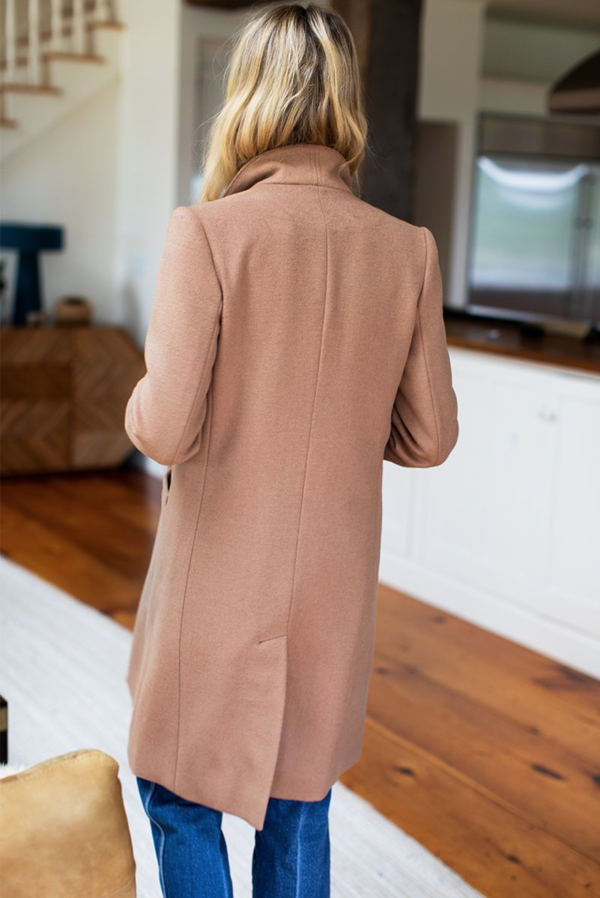 Emerson Fry Tailored Coat - Camel